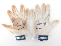 "Pair of (2) Aaron Judge Signed Game-Used Batting Gloves Inscribed ""GU 2018""  (Fanatics Hologram & MLB Hologram)"