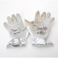 "Pair of (2) Aaron Judge Signed Game-Used Adidas Batting Gloves Inscribed ""GU 2018""  (Fanatics Hologram & MLB Hologram) at PristineAuction.com"