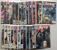 Lot of (27) 1989-1990 DC Batman Comic Books