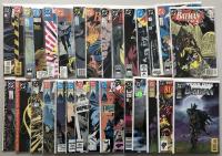 Lot of (30) 1986-1990 DC Batman Comic Books