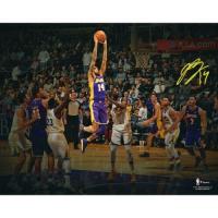 "Brandon Ingram Signed Lakers ""Spotlight"" 11x14 Photo (Fanatics Hologram) at PristineAuction.com"