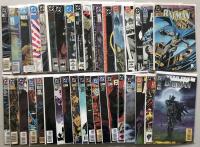 Lot of (36) 1940 DC Batman Comic Books
