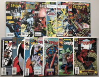 Lot of (26) 1993-1996 Marvel Spider-Man Comic Books at PristineAuction.com