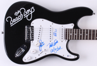 """The Beach Boys"" Full-Size Electric Guitar Signed by (4) with Mike Love, Brian Wilson, Al Jardine, & Bruce Johnston (Beckett LOA)"