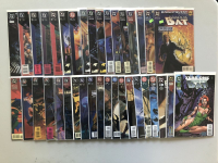 Lot of (37) 1992 DC Batman Shadow of the Bat Comic Books