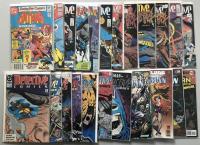 Lot of (24) DC Detective Comics Batman 1st Series Comic Books