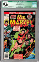 1977 Ms.Marvel #1 1st Series Comic Book (CGC 9.6)