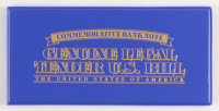 Muhammad Ali Colorized Genuine Legal Tender U.S. $2 Bill Display at PristineAuction.com