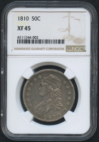 1810 50¢ Capped Bust Half Dollar (NGC XF 45)