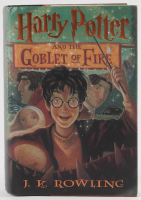 "Daniel Radcliffe Signed ""Harry Potter and the Goblet of Fire"" Hard Cover Book (PSA COA)"