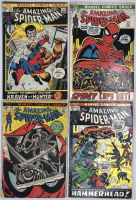 Lot of (4) 1972 Marvel Amazing Spider-Man 1st Series Comic Books with #111, #112, #113, #114