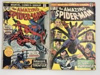 Lot of (2) 1974 Marvel Amazing Spider-Man 1st Series Comic Books with #134 & #135 at PristineAuction.com