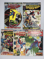 Lot of (5) 1972-74 Marvel Amazing Spider-Man 1st Series Comic Books with #115, #116, #118, #127 & #128