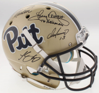 Pittsburgh Panthers Greats Full-Size Helmet Signed By (5) With Curtis Martin, Tony Dorsett, Chris Doleman, Dan Marino With Inscriptions (Radtke COA & Martin Hologram) at PristineAuction.com