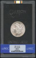1881-CC $1 Morgan Silver Dollar (NGC MS 63)