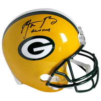 "Aaron Rodgers Signed Packers Full Size Helmet Inscribed ""XLV MVP"" (Steiner COA)"