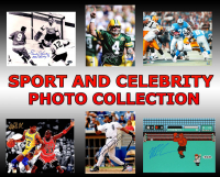 Multi Sports & Celebrity Signed Mystery Photo Collection – Series 2 (3 Autographed Photos Per Box)