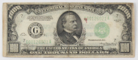 1934 $1000 One Thousand Dollars Federal Reserve Note