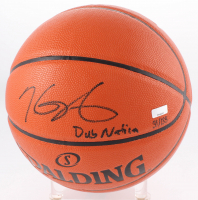 """Kevin Durant Signed LE NBA Game Ball Series Basketball Inscribed """"Dub Nation"""" (Panini COA) at PristineAuction.com"""