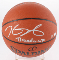 """Kevin Durant Signed LE NBA Game Ball Series Basketball Inscribed """"Thunder Up"""" (Panini COA) at PristineAuction.com"""