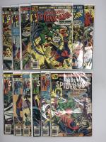 Lot of (12) 1976 Marvel Amazing Spider-Man 1st Series Comic Books