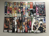 Lot of (27) 1984-2008 Uncanny X-Men 1st Series Marvel Comic Books