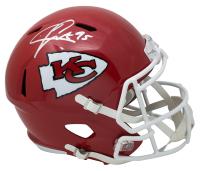 Chris Jones Signed Washington Redskins Full-Size Speed Helmet (JSA COA)