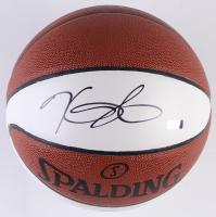 Kevin Durant Signed Warriors Logo Basketball (Panini COA) at PristineAuction.com