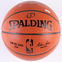 Kevin Durant Signed NBA Game Ball Series Basketball (Panini COA) at PristineAuction.com
