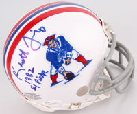 """Kenneth Sims Signed Patriots Throwback Mini-Helmet Inscribed """"1982 #1 Pick"""" (JSA COA) at PristineAuction.com"""