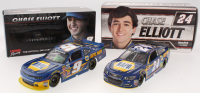 Lot of (2) Chase Elliott LE 1:24 Scale Die Cast Cars with (1) Signed #9 NAPA Autographed 2014 Camaro & (1) #24 NAPA 2017 SS (JSA COA)