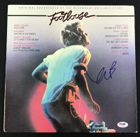 "Kevin Bacon Signed ""Footloose"" Album Cover (PSA COA)"