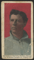1910 Williams Caramel E103 #3 Mordecai Brown