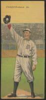 1911 Mecca Double Folders T201 #10 Sam Crawford / Ty Cobb