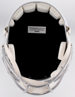 Tom Brady Signed Patriots White ICE Full-Size Speed Helmet (Tristar Hologram) at PristineAuction.com