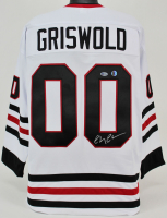 """Chevy Chase Signed """"National Lampoon's Christmas Vacation"""" Hockey Jersey (Beckett COA & Chase Hologram) at PristineAuction.com"""