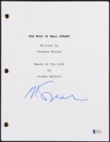 "Martin Scorsese Signed ""The Wolf of Wall Street"" Movie Script (Beckett COA)"
