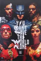 "Ben Affleck Signed ""Justice League"" 24x36 Poster (Beckett COA)"