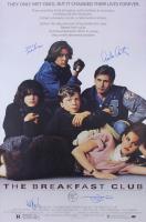 """The Breakfast Club"" 24x36 Poster Cast Signed by (4) with Judd Nelson, Molly Ringwald, Emilio Estevez & Ally Sheedy (Schwartz COA)"