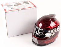 Dale Earnhardt Jr. Signed NASCAR Axalta 1:3 Scale Helmet (JSA COA) at PristineAuction.com
