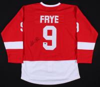 "Alan Ruck Signed ""Ferris Bueller's Day Off"" Red Wings Jersey (Schwartz COA)"
