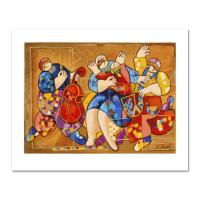 "Dorit Levi Signed ""Salsa Fun"" Limited Edition 13x10 Serigraph at PristineAuction.com"
