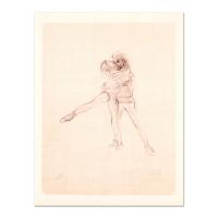 """Edna Hibel Signed """"Pas De Deux"""" Limited Edition 12x16 Lithograph at PristineAuction.com"""