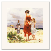 """Pino Signed """"Breezy Days"""" Limited Edition 16x16 Giclee at PristineAuction.com"""