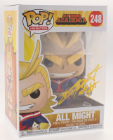 "Christopher Sabat  Signed ""My Hero Academia"" All Might #248 Funko Pop! Vinyl Figure Inscribed ""All Might"" (JSA COA)"