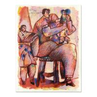 """Theo Tobiasse Signed """"Enfant Venus Du Palais De La Memoire"""" Limited Edition 22x30 Lithograph at PristineAuction.com"""