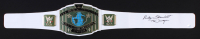"Ricky Steamboat Signed WWE Intercontinental Heavyweight Championship Belt Inscribed ""The Dragon"" (Schwartz COA)"