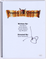 "Johnny Depp Signed ""Pirates of the Caribbean: The Curse of the Black Pearl"" Movie Script (JSA COA)"