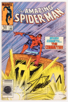 "Stan Lee Signed 1985 ""The Amazing Spider-Man"" Vol. 1 Issue #267 Marvel Comic Book (Lee COA)"