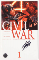 "Stan Lee Signed 2006 ""Civil War"" Issue #1 Marvel Comic Book (Lee COA)"